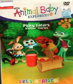 DVD Wild Animal Baby Explorers Picky Eaters Vol.3