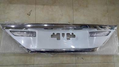 2012 vellfire alphard rear plate garnish bodykit