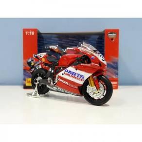 Maisto 1:18 Ducati FILA #32 MotoGP Diecast Motor