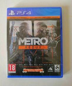 NEW AND SEALED PS4 Game Metro Redux Double Pack R2