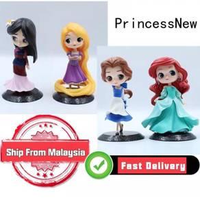 Princess Mulan Rapunzel Beauty Beast Bell mermaid