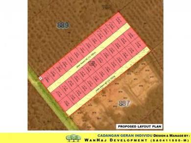 Tanah lot banglo individu untuk dijual di sepang (labu lanjut)
