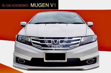 Honda city 12 - 14 mugen v1 bodykit body kit lip
