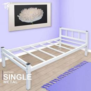 Solid Single Steel Bed Frame Extra Thick Steel