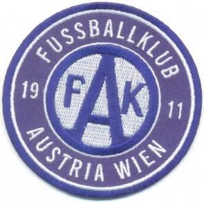 FK Austria Wien Vienna Football Embroidered Patch