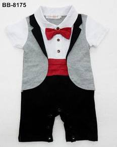 Baby boy and toddler texedo jumper 8175