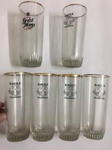 Vintage Guinness Beer Cawan Cup Eagle Pilsner Mug