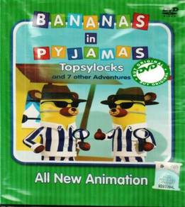 DVD Banana In Pyjamas Topsylocks And 7 Other Adven