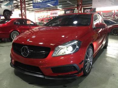Mercedes W176 STYLE AMG A45 CONVERSION