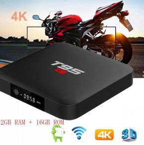 T95 great 2/16g android plus tv box new