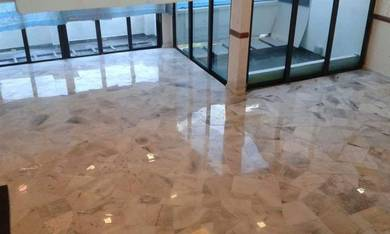 Marble Polish Parquet Terrazzo and Pasang Marble