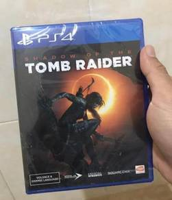 NEW AND SEALED PS4 Game Shadow of The Tomb Raider