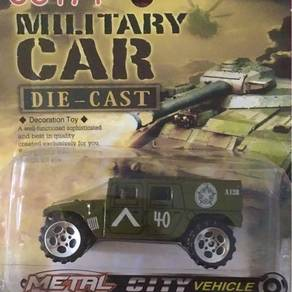 HUMMER military personnel all terrain 1/43 diecast