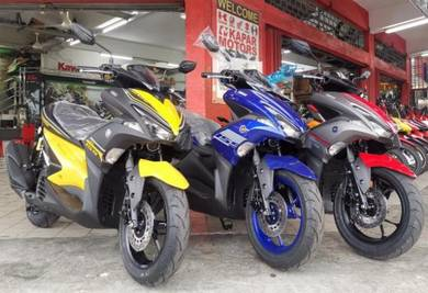 New Yamaha NVX 155 Aerox STD Movistar GP Muka2k
