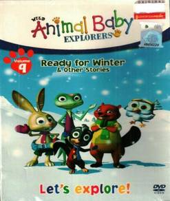 DVD Wild Animal Baby Explorers Ready For Winter &