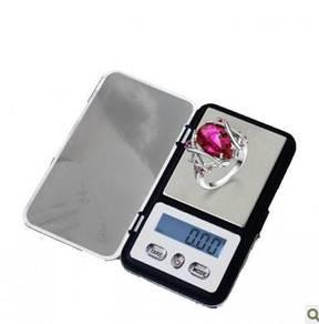 S Mini Pocket Weighing Scale 0.01-200g Penimbang