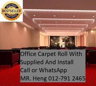 Office Carpet Roll Supplied and Install 54h54h