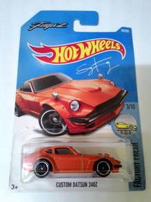 Hot Wheels 2017 - CUSTOM DATSUN 240Z (RECOLOR)