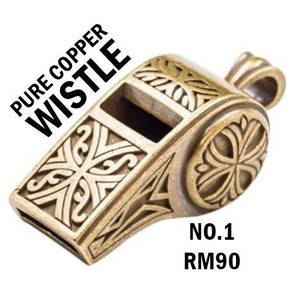 Wistle Small Keychain Copper | Keychain Tembaga