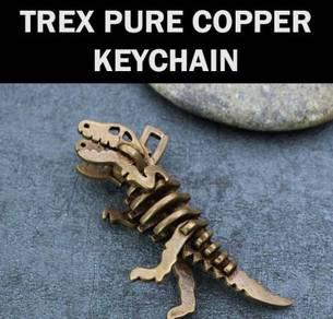 Dinosaur Pure Copper Keychain | Keychain Tembaga