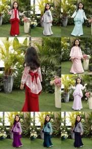 2019 Raya Lace Kebaya Moden Budak
