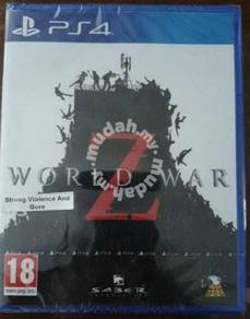 NEW AND SEALED PS4 Game World War Z (ENG/CHI)
