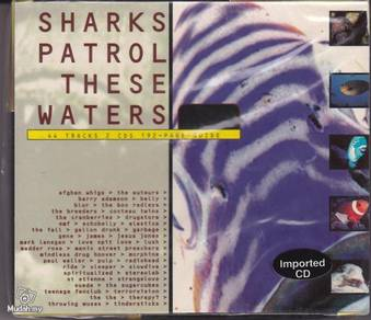 IMPORTED CD Sharks Patrol These Waters