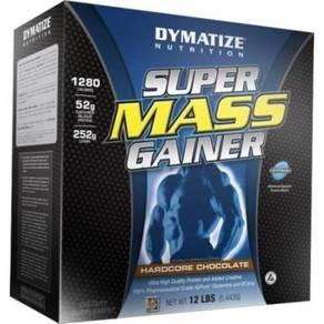 Dymatize super mass gainer muscle dan bina badan