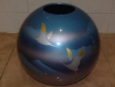 Pasu vintage ceramic round vase