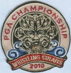 2010 92nd Whistling Straits PGA Golf Patch
