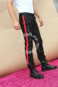 Leather Pants Stripe