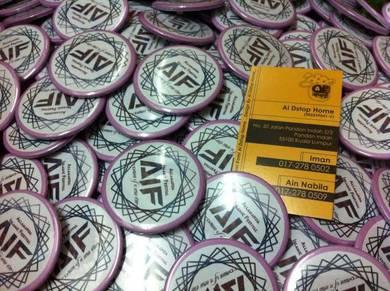 Tempahan Button Badge