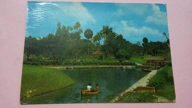 Antik Old Postcard Tasek Perdana 1980s PC 554