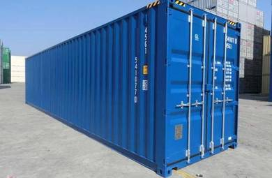 One-trip 40ft Container Dry Cargo worthy Storage