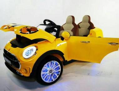Kids ride on electric car with rc