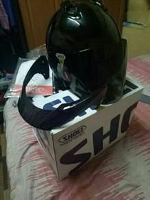Helmet shoei j force 2 original fullset