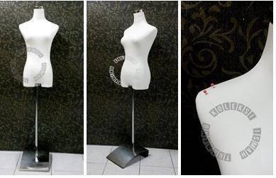 Tailor mannequin untuk jahitan