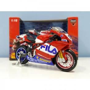 Maisto 1:18 Ducati FILA #11 MotoGP Diecast Motor
