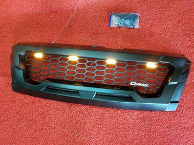 Isuzu dmax d-max 16-18 led front grill grille