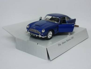 The Aston Martin DB5 1/38 Model car - Blue