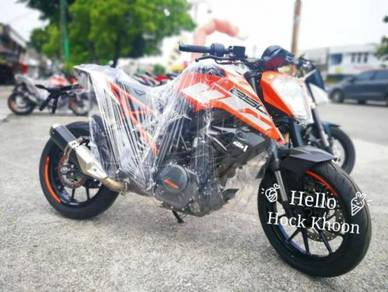 HK - KTM Duke 250 (muka rendah)(online apply)