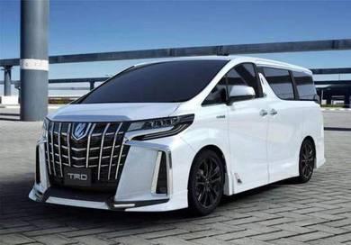 Toyota alphard 2018 2019 2020 agh30 trd bodykit 3