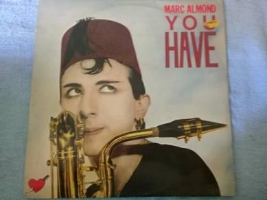119 Piring hitam LP MARC ALMOND YOU HAVE