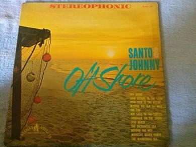 EEQ Piring hitam LP OFFSHORE SANTO vinyl
