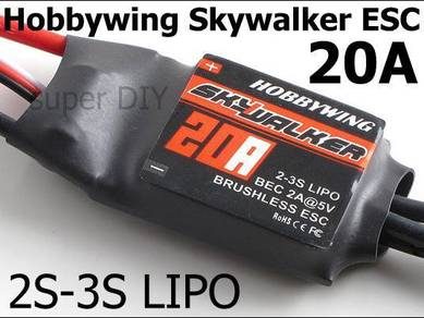 Hobbywing Skywalker 20A ESC for RC drone 2~3S Lipo