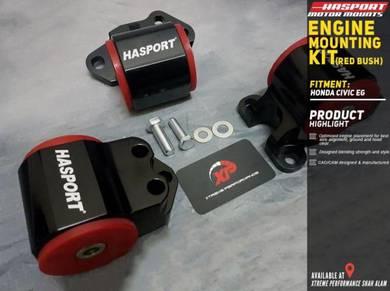 Hasport Engine Mounting Honda Eg Ek Ej 3 Hole