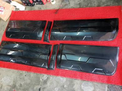 Ford ranger t6 t7 door cladding protector panel