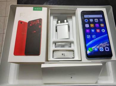 Oppo F7 64GB Fullset with box ( Red Color )