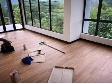 Vinyl Floor Lantai Timber Laminate PVC Floor Z58
