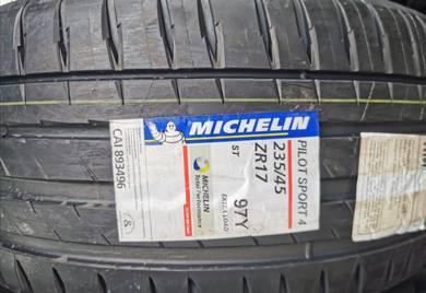 Tayar Michelin Pilot Sport 4 PS4 235 45 17 Tyre 20